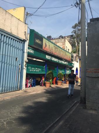 La Poblanita de Tacubaya