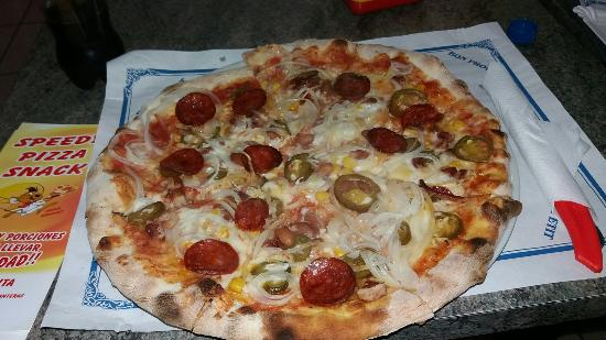 Speedy Pizza Snack