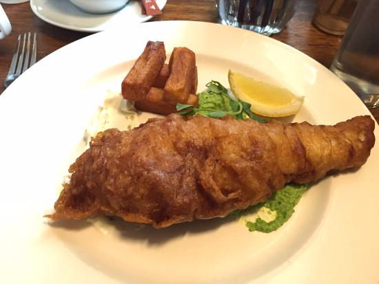 The Rising Sun: Delicious Fish & Chips with Mushy Peas