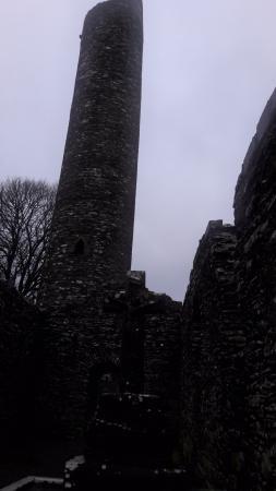 Drogheda, Irland: Torre em pedras.