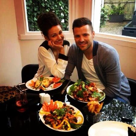 West Bromwich, UK: Mark wright & michelle keegan