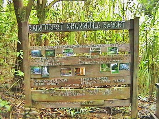 Saint George Parish, Dominica: sign location