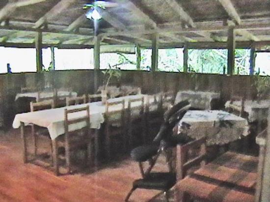 Rainforest Shangri-La Resort: more of diining room 2013