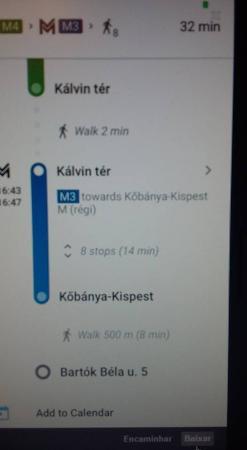 Hotel Chesscom: Metro para o hotel
