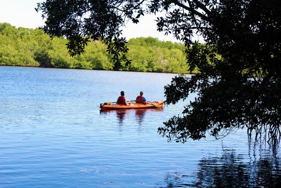 Estero Padre Ramos Nature Reserve: This is the Kayak tour in the Padre Ramos Natural Reserve in Chinandega, Nicaragua.