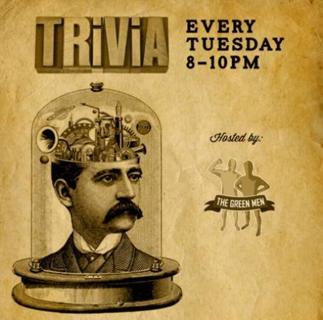 Surrey, Kanada: Trivia Tuesdays At Edith & Arthur Public House, Hosted By The Official Green Men