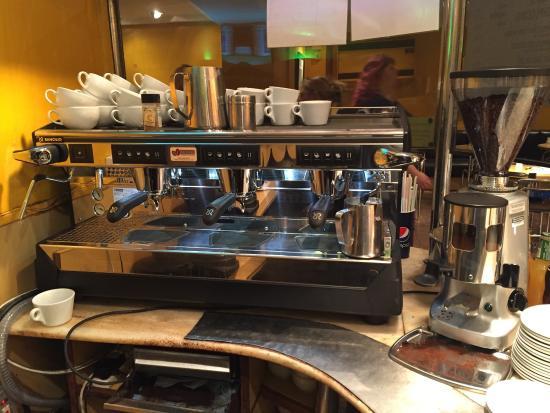 New Rancilio Coffee Machine Picture Of Pillars Restaurant