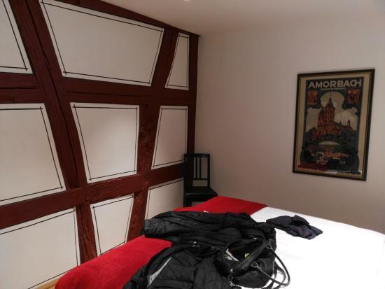 zimmer nr 2 bild von landgasthof zum hasen kleinwallstadt tripadvisor. Black Bedroom Furniture Sets. Home Design Ideas