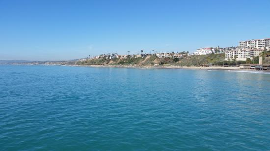 View of San Clemente from the pier