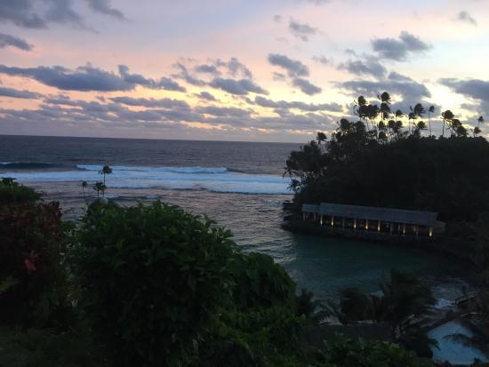 Seabreeze Resort Restaurant: Stunning view from top