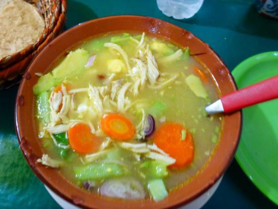 Los Gallos: FABULOUS Chicken Soup!