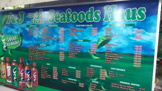 AJ's Seafood House