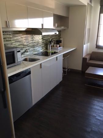 mini kitchen in the room picture of element las vegas summerlin rh tripadvisor co za