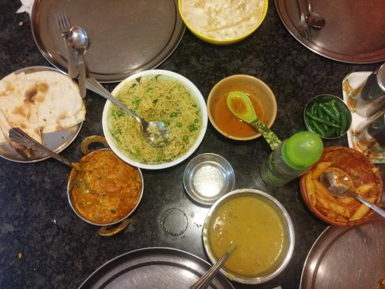 yummy food on the table picture of govinda s restaurant mayapur rh tripadvisor com