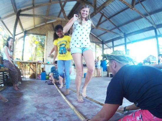 The Philippine Experience Tinikling A Local Filipino Dance