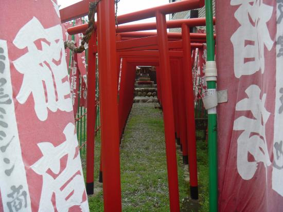Minokamo, Japan: 赤鳥居