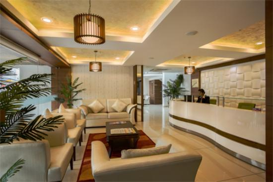 KGA Elite Continental : Hotel Lobby and Reception Area