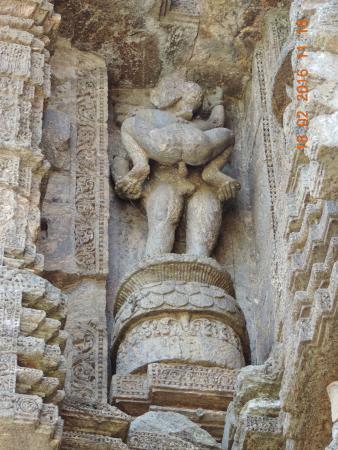 Konark, India: Position from the Kamasutra