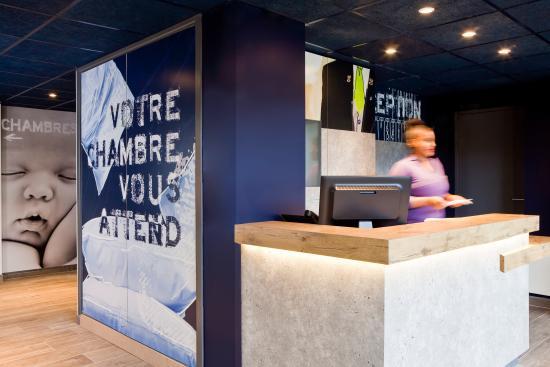 Ibis Budget Saint Omer Centre : accueil moderne