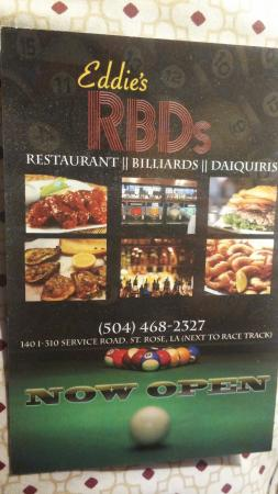 Eddie's Restaurant, Billiards and Daiquiris