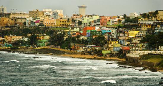 Puerto Rico: Aussicht von einem Schiff