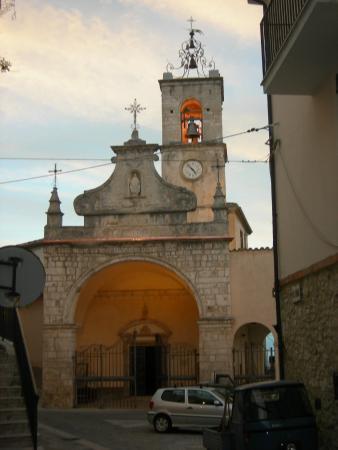Pretoro, Italie: Esterno Chiesa