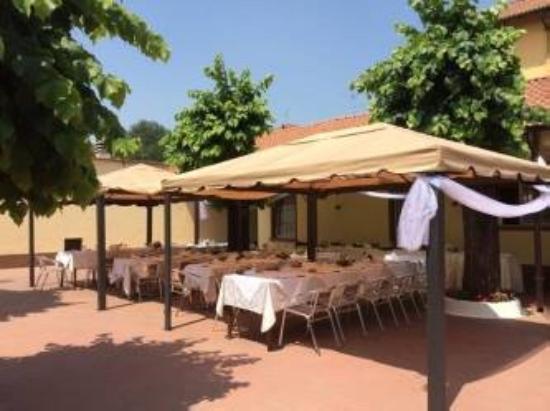 Ristorante trattoria pizzeria la rustichella in milano con - Trattoria con giardino milano ...