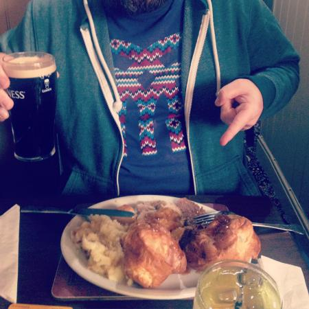 Killingworth Arms: Giant Yorkshires!