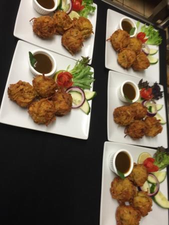 photos of the food presentation at mehfil restaurant mehfil