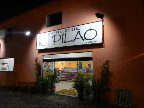 Apiai: Entrada do restaurante