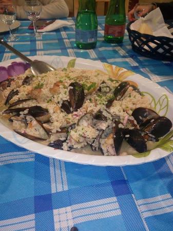 Risotto alla pescatora foto di tavola azzurra 3 roma - Tavola azzurra 3 ...