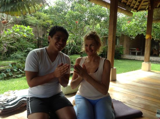Villa Prana Bali: yoga time