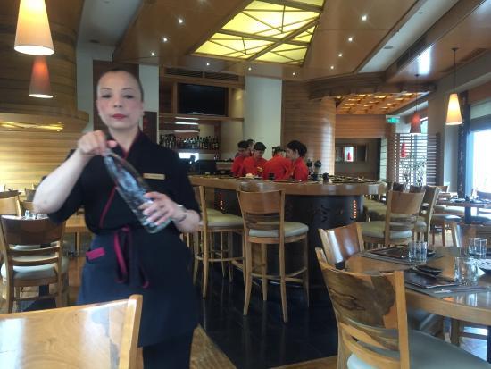 Osaka Sushi Lounge : Good service.