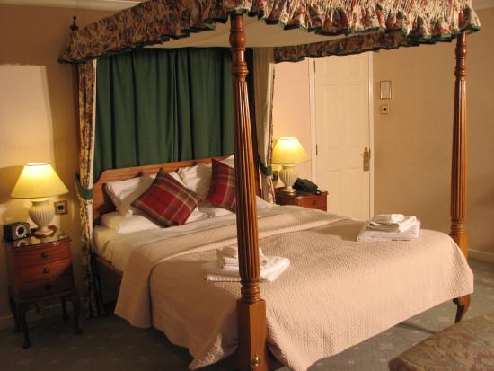 Kirroughtree House Hotel: Four poster King Room