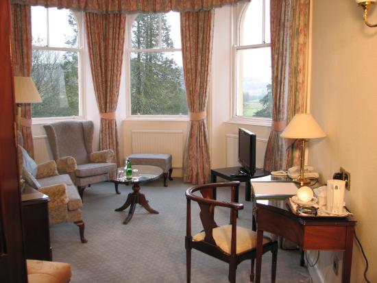 Kirroughtree House Hotel: King Room Lounge