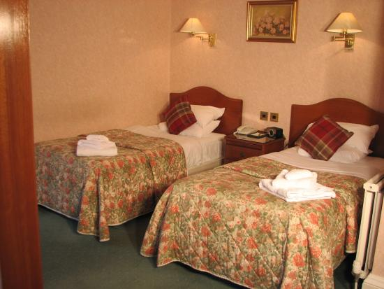 Kirroughtree House Hotel: Twin Room