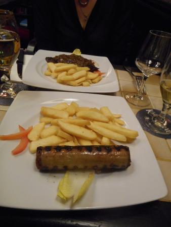 Taverne De Maitre Kanter: andouillette aaaaa