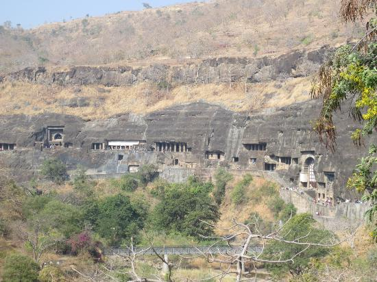 The Location of Ajanta Caves