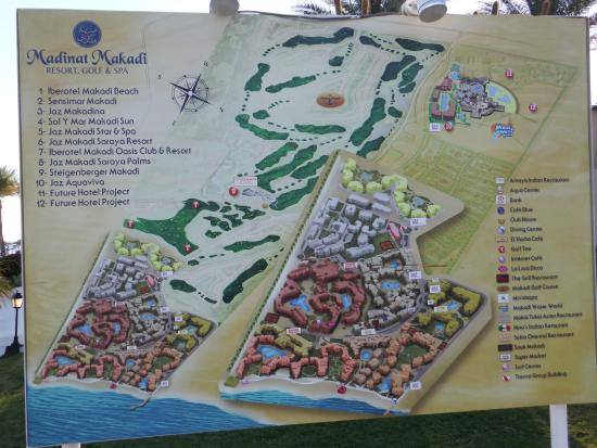 Makadi Bay Karte.Lageplan Bild Von Iberotel Makadi Beach Makadi Bay Tripadvisor