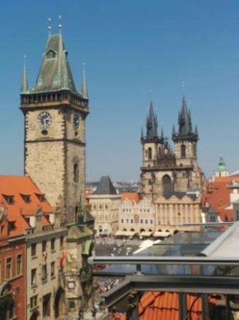Teresa U Prince: View towards cathedral