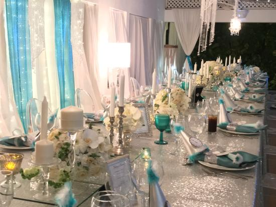 kukua beach club beautiful tablescapes - Tablescapes
