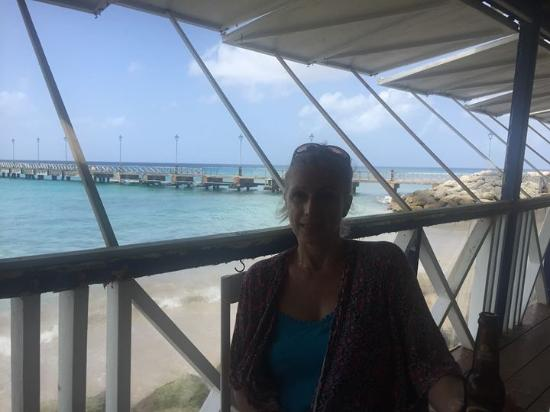 Mullins Heights: The Fishermans pub Speightstown