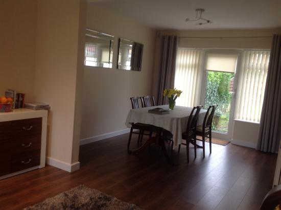 Penrhyn Bay, UK: Living room