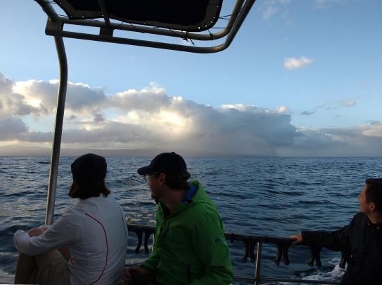 Kaunakakai, Hawaje: The boat and other passengers