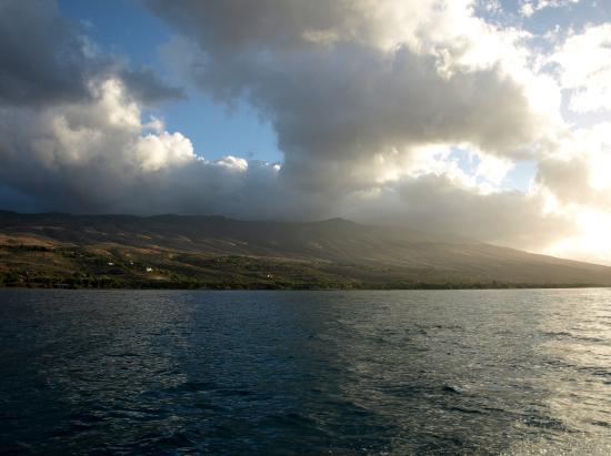 Kaunakakai, Hawaje: The island coast