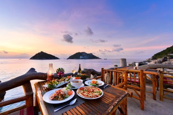 Sunset Restaurant Koh Tao @ Dusit Buncha Resort