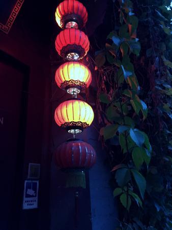 Red Lantern House: entrance