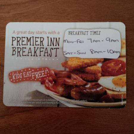 Premier Inn Chorley North Hotel Aufnahme