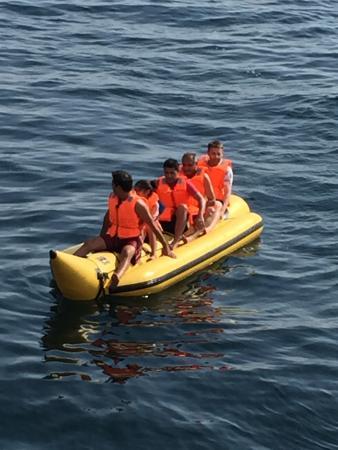 Musandam Sands Tourism - Day Tours: Banana Boat