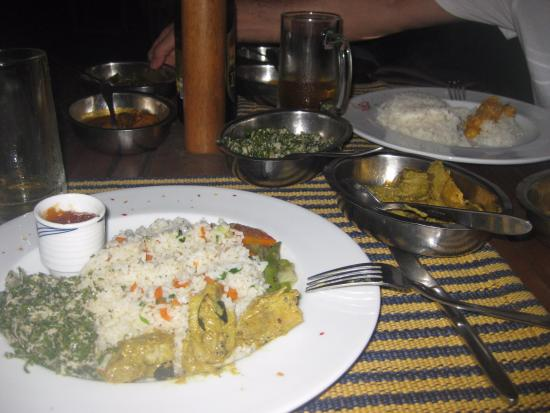 Heritage Dambulla Hotel: Delicious curry
